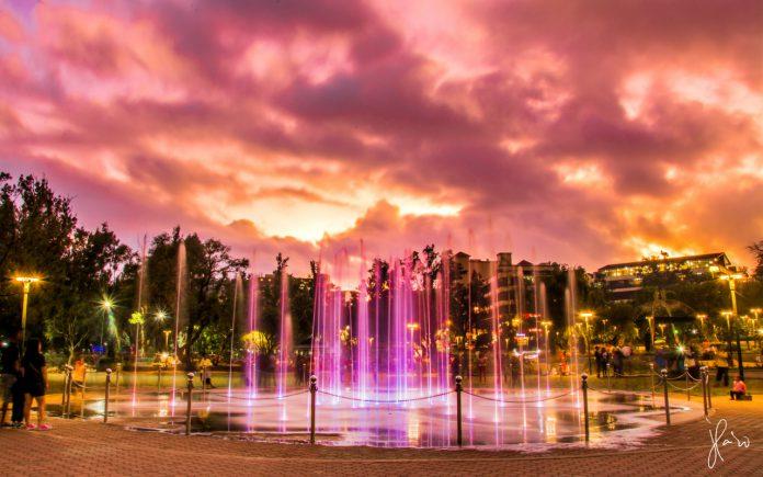 Baguio Burnham Park Fountains