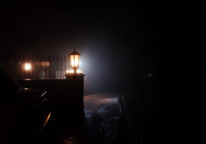 Baguio Dark and Foggy