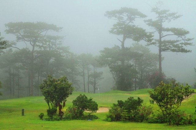 Baguio Fog at Golf Course