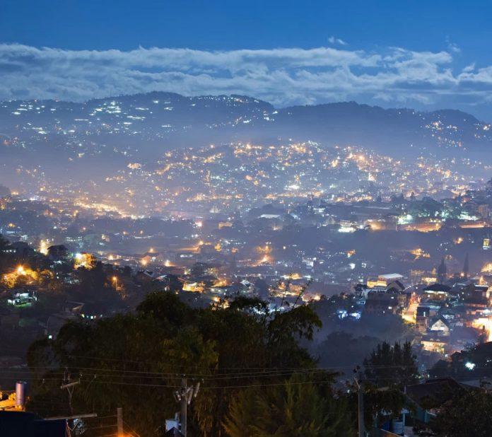 Baguio Foggy City