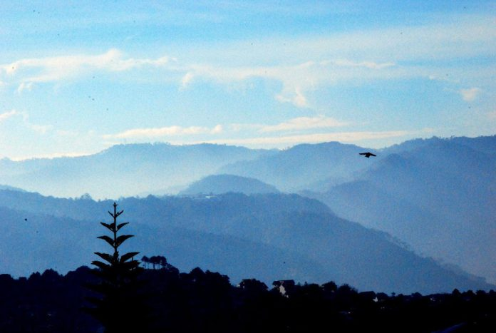 Baguio High in The Clouds with the Birds