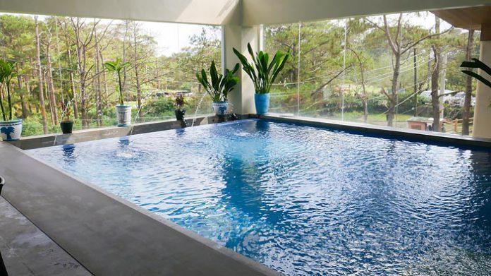 Baguio Le Monet Hotel Pool