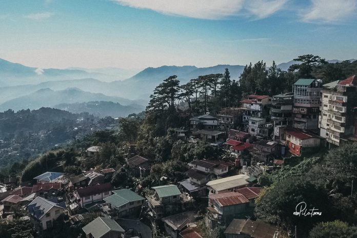 Baguio Mountain Side in the Morning