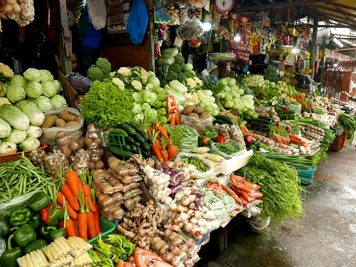 Baguio Palengke Vegetable Market