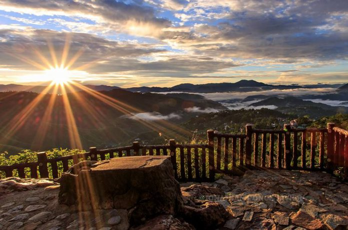 Baguio Sunrise at Mines View