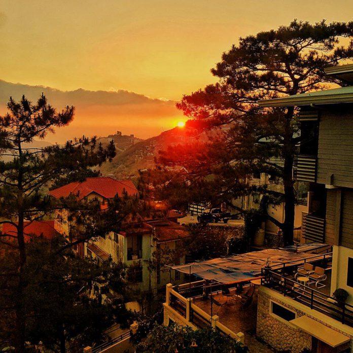 Baguio Sunset