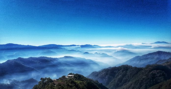 Baguio – View of Clouds from Atok, Benguet