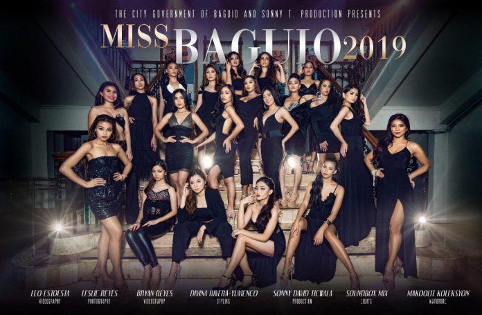 Miss Baguio 2019 Competitors