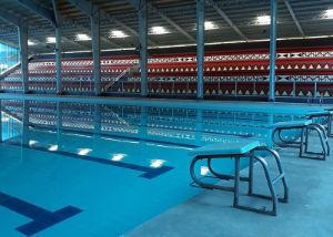 Baguio Public Pool Stands