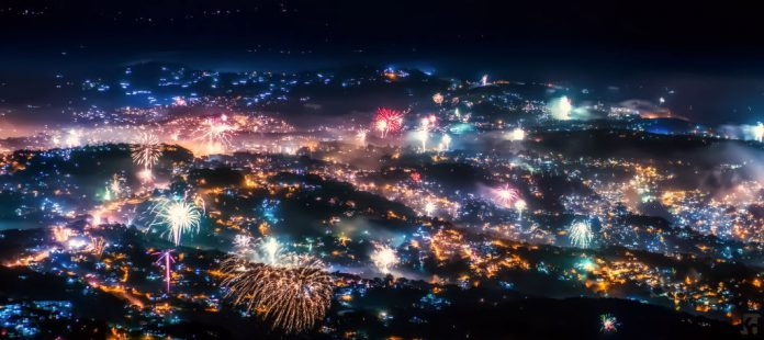 New Year's Eve in Baguio
